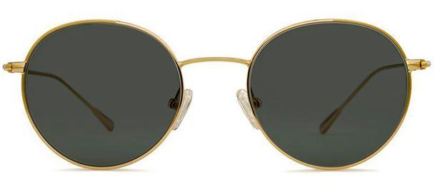 Okulary BRENDA EMMA GOLD GREEN - 1