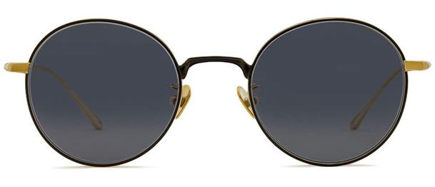 Okulary BRENDA BLUEBERRY GOLD/ BLACK - 1