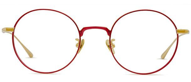 Okulary BRENDA BLUEBERRY  RED - 1