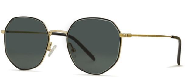 Okulary BRENDA SUSAN GOLD/ BLACK - 2
