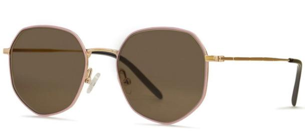 Okulary BRENDA SUSAN GOLD/ROSE - 2